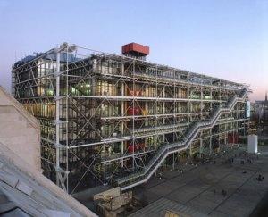 Il Centre Pompidou a Parigi